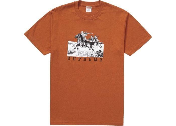 Supreme Riders Tee Rust