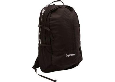 Supreme Backpack SS18 Black
