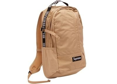 Supreme Backpack SS18 Tan