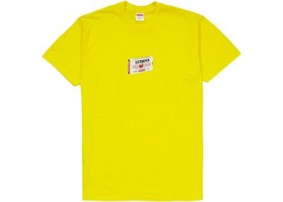Supreme Luden's Tee Yellow