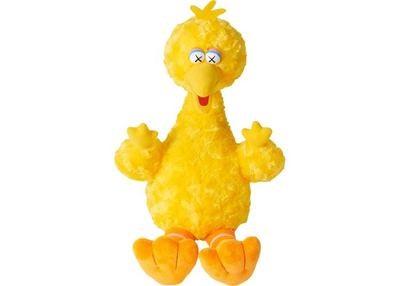 Kaws Sesame Big Bird Plush Toy
