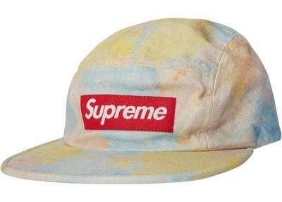 Supreme Multicolor Rainbow Camp Cap