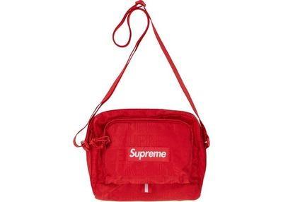 Supreme SS19 Shoulder Bag Red