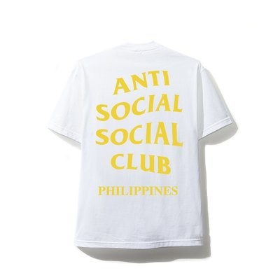 Anti Social Social Club Philippines White