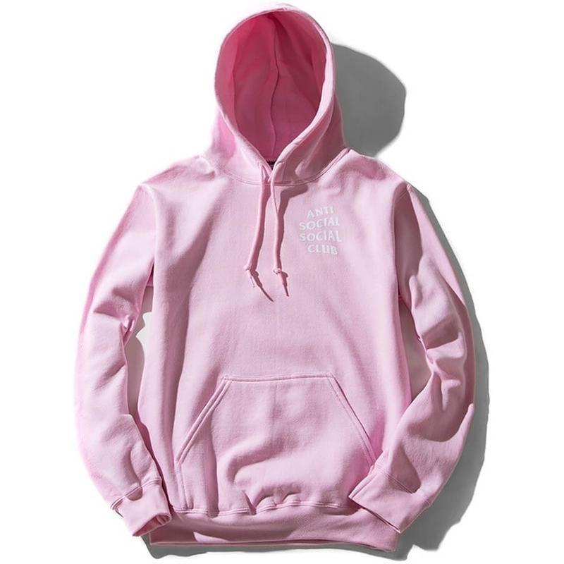 Anti Social Social Club Hoodie Pink