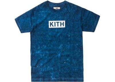 Kith Solid Dye Tee Navy