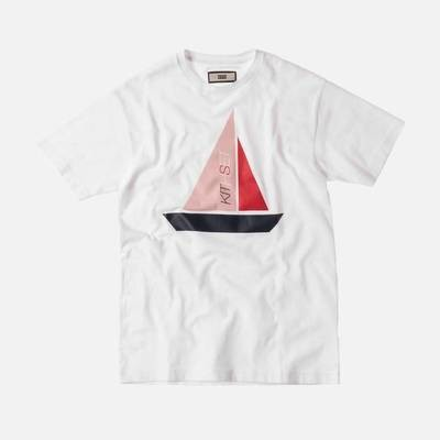 Kith Set Sail Tee White