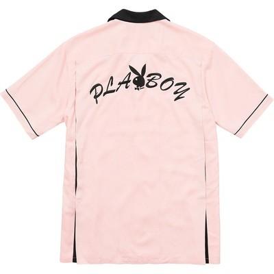 Supreme Playboy Bowling Jersey Pink