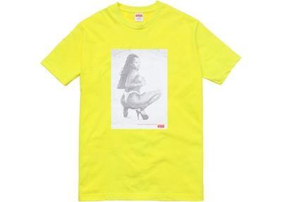 Supreme Digi Tee Yellow