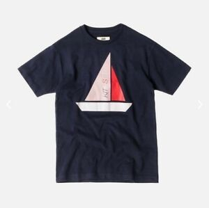 Kith Set Sail Tee Navy
