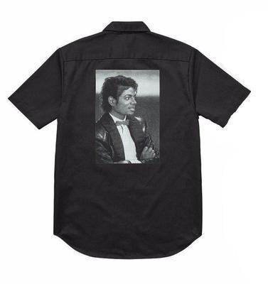 Supreme Michael Jackson Work Shirt