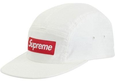 Supreme Fuck Everybody Jacquard Camp Cap White
