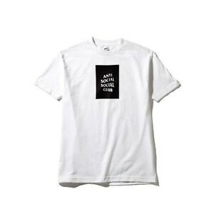 Anti Social Social The Club Box Tee White