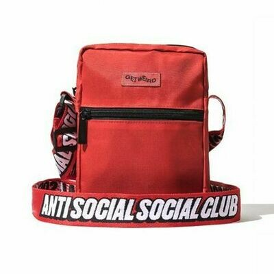Anti Social Social Club Red Side Bag
