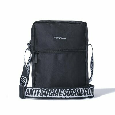 Anti Social Social Club Black Side Bag OS