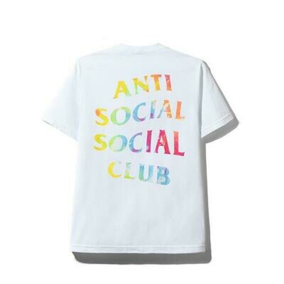 Anti Social Social Club Thai Dye White Tee