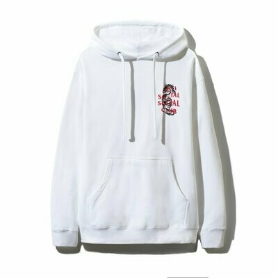Anti Social Social Club Garden Grove White Hoodie