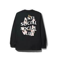 Anti Social Social Club Kkoch Black Long Sleeve