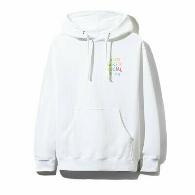 Anti Social Social Club Thai Dye White Hoodie