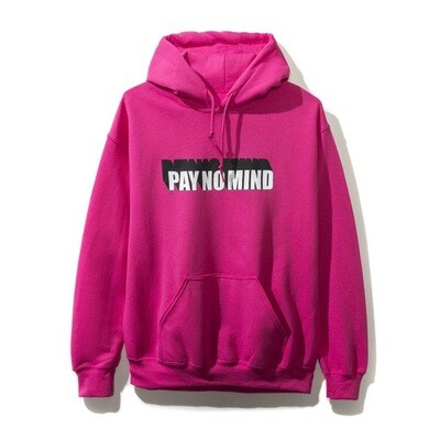Anti Social Pay No Mind Hoodie Size Medium