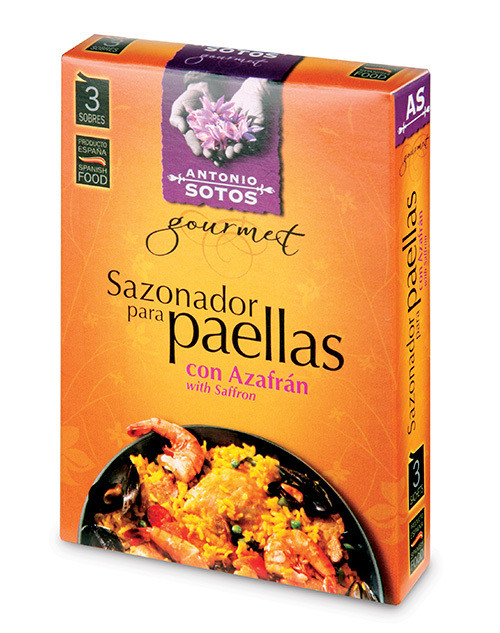 Antonio Sotos Paella Seasoning 3g Satchel x 3