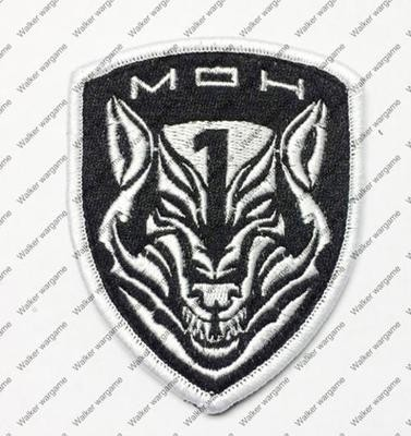 B2381 MOH Medal of Honor Wolfpack Team Patch With Velcro - Full Colour