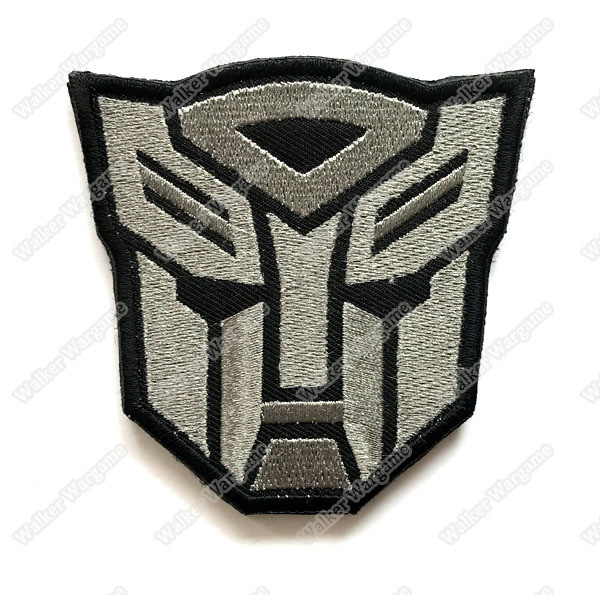 WG068 Transformer Autobots Patch With Velcro - ACU Color