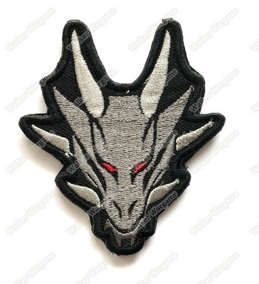 WG072 Dragon Totem Patch With Velcro - Full Color