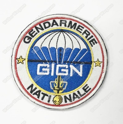 WG092 Franch Special Force GIGN Patch With Velcro - Full Color