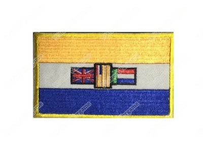 WG058 Old RSA Union Of South Africa National Flag Patch With Velcro - Full Colour