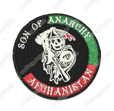 WG025 Sons of Anarchy Afghanistan Patch With Velcro - Full Colour