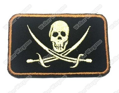 WG016 SEAL Team 6 Skull Patch With Velcro - Full Color