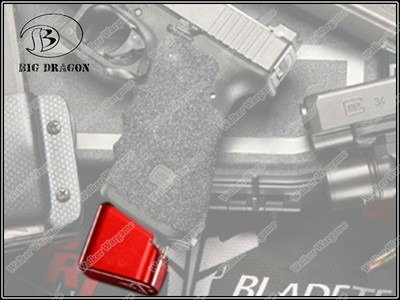 Tactical Mag Foot For 9mm 40sw Glock Pistol Mag - Base Pad for Glock