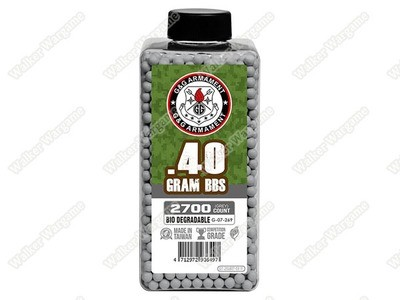 G&G 0.40g High Quality Precision Grade Biodegradable BB - 2700rds Bottle