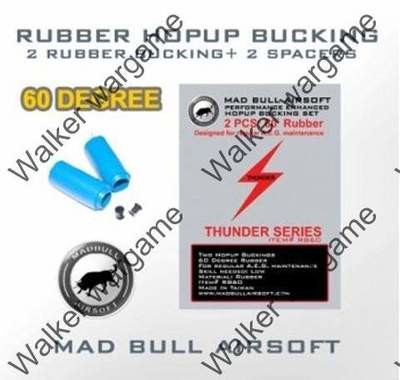 Madbull 60 Degree Normal Shark Hopup Bucking Blue x1 Unit
