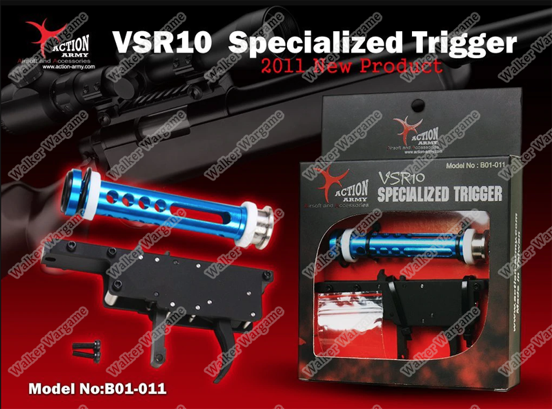 Action Army - Zero Trigger System + Piston For VSR-10 JG Bar10 B01-011