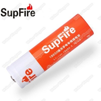 SupFire 3.7V 2300mAh 18650 Li-ion Rechargeable Battery For Supfire Flashlight Torch