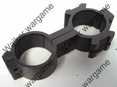 25mm Dual Hole Laser Sight Scope Ring Mount