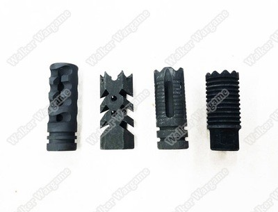 BD Tactical Full Steel 14mm CCW Flash Hider