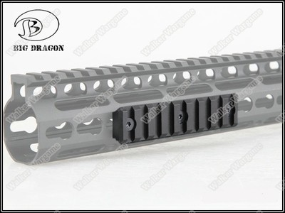 BD Tactical KeyMod Modular Picatinny Rail NOV NSR RAIL - 1 Pice Long