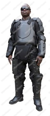 Police Army and Secutity - Anti Riot Suit Full Body Protective Suit