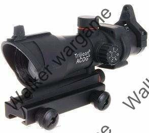 ACOG Type 1x30 Red/Green Dot Sight Scope - Black & Tan