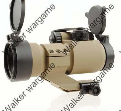 AM2 Red Green Dot Sight Scope - Black & Tan