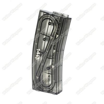 ARES M4 TP 140rds M16 Mid Cap Magazine for M4 / M16 AEG - Transparent