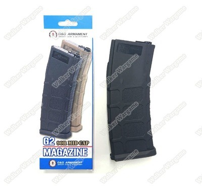 G&G Mid Cap Magazine for MBR 556 G2 Series 90Rds - Black