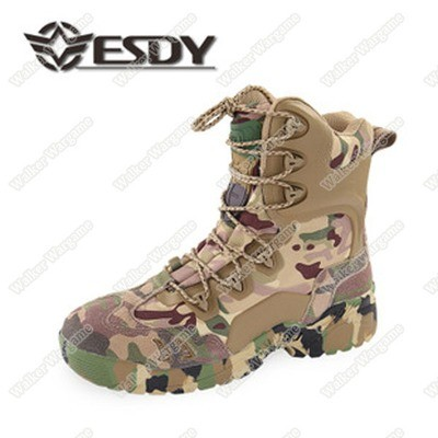 ESDY Side ZIP Combat Assault Army Boots - Special Force Multicam