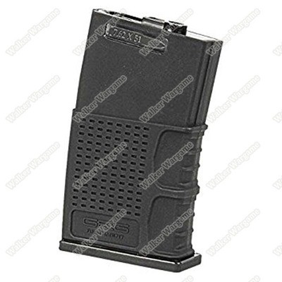 G&G Hi Cap Metal Magazine for MBR 308 G2H Series 370Rds - Black
