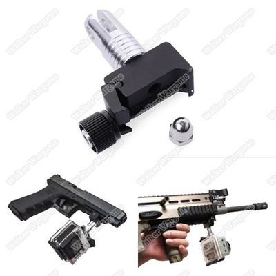 20mm Picatinny Weaver Gun Rail Mount for GoPro Hero1 2 3 3+4 Sport Camera