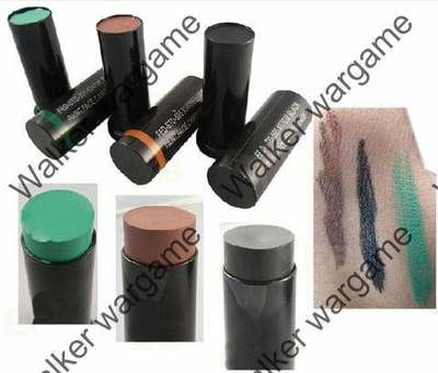 Army Camo Face Paint Compact Makeup 3 Colour Set