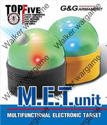 G&G M.E.T. Unit ( MET ) - Multifunctional Electronic BB Airsoft Gun Target